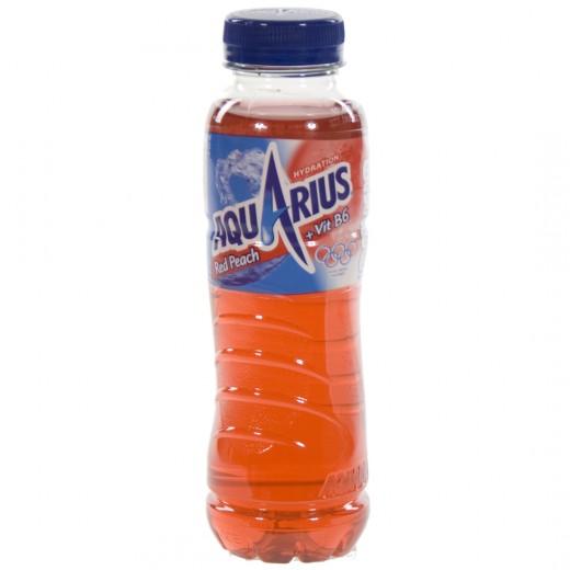 Aquarius  Red Peach  33 cl   Fles