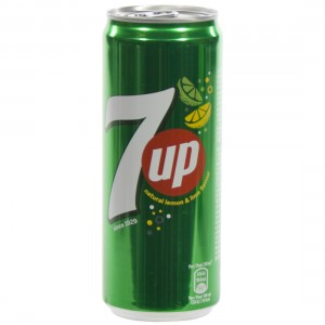 7 up  Regular  33 cl  Blik