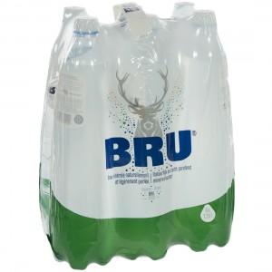 Bru Pet  1,25 liter  Pak  6 st