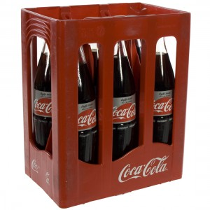 Coca Cola  Light  1 liter  Bak  6 fl