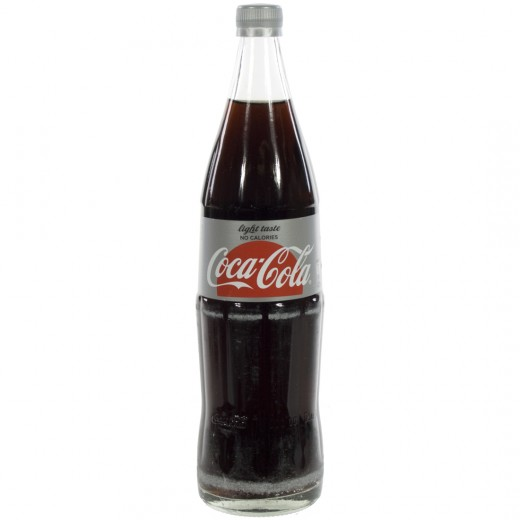 Coca Cola  Light  1 liter   Fles