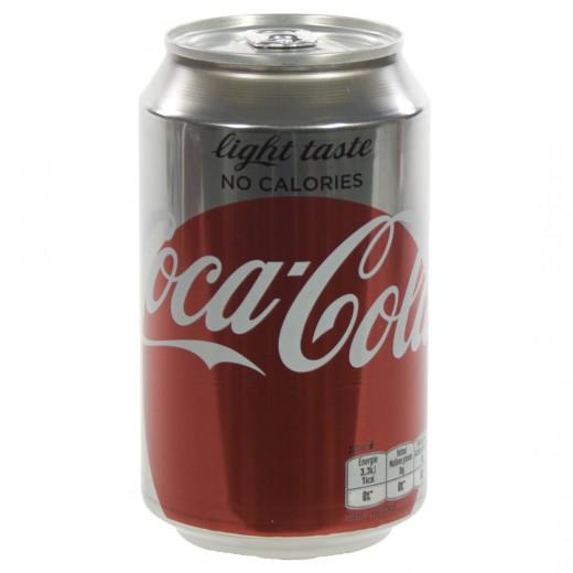 Coca Cola  Light  33 cl  Blik