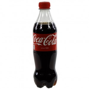 Coca Cola PET  Regular  50 cl   Fles