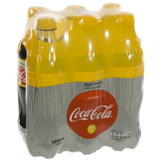 Coca Cola PET  Light Lemon  50 cl  Pak  6 st