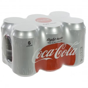 Coca Cola  Light  33 cl  Blik  6 pak