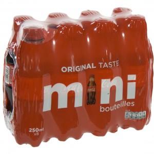 Coca Cola PET  Regular  25 cl  Pak  8 st