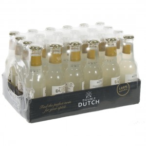 Double Dutch Tonic  Ginger Beer  20 cl  Pak 24 st