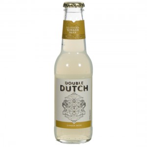 Double Dutch Tonic  Ginger Beer  20 cl   Fles