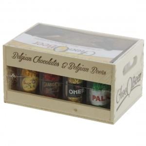 Chocobeer houten bierbakje  200 g
