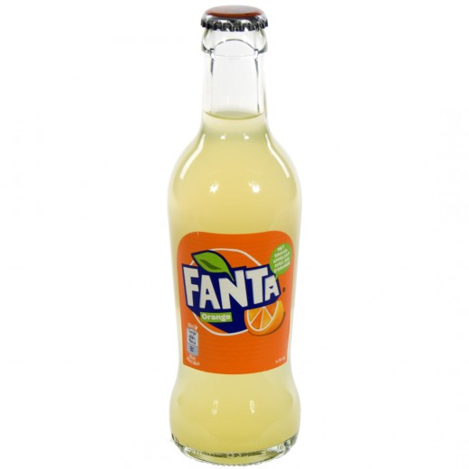 Fanta  Orange  20 cl   Fles