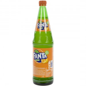 Fanta  Orange  1 liter   Fles