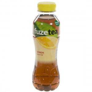 Fuze sparkling black tea PET  Lemon  40 cl   Fles