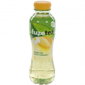 Fuze Green tea PET  Mango Chamomile  40 cl   Fles
