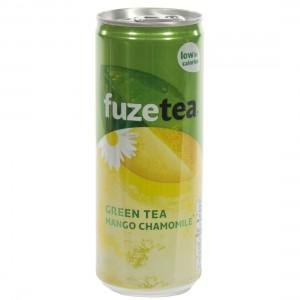 Fuze Green tea BLIK  Mango Chamomile  25 cl  Blik