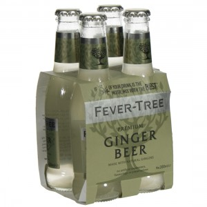 Fever Tree  Ginger Beer  20 cl  Clip 4 fl