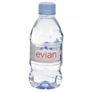 Evian PET  Plat  33 cl   Fles