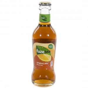 Fuze Tea  Black Sprankling  20 cl   Fles