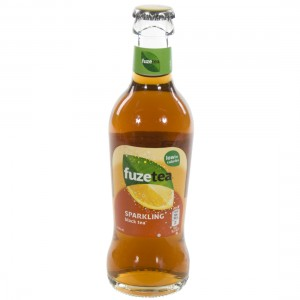 Fuze sparkling black tea  20 cl   Fles