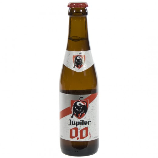 Jupiler 0,0%  25 cl   Fles