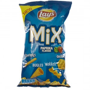 Lays chips mix  Paprika  125 g