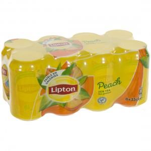 Lipton BLIK  Perzik  33 cl  Blik  8 pak