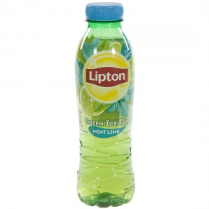 Lipton PET  Green Munt Limoen  50 cl   Fles