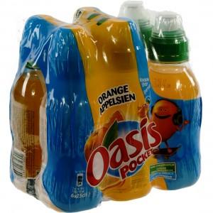 Oasis PET  Orange  25 cl  Pak  6 st