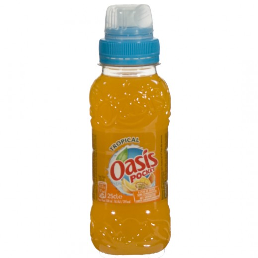 Oasis PET  Tropical  25 cl   Fles