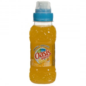 Oasis PET  Orange  25 cl   Fles