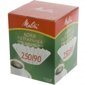 Melitta koffie filterpapier  Doos 250st