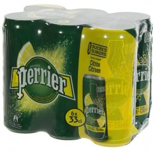 Perrier Limonade BLIK  Citroen  33 cl  Blik  6 pak