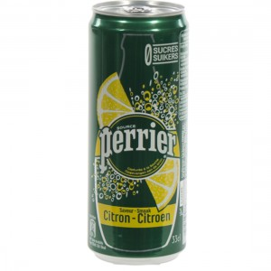 Perrier Limonade BLIK  Citroen  33 cl  Blik