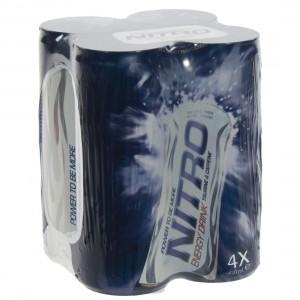 Nitro Energy drank  25 cl  Pak  4 st