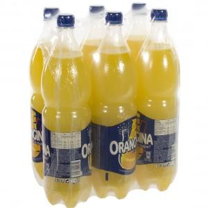 Orangina Pet  1,5 liter  Pak  6 st
