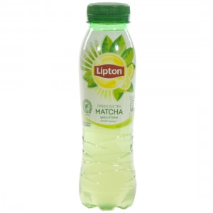 Lipton Ice tea Green Matcha  Lime  33 cl   Fles