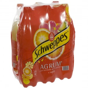 Schweppes agrum PET  Regular  1,5 liter  Pak  6 st