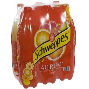 Schweppes agrum PET  Regular  1,5 liter  Pak  6 st