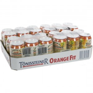 Tonissteiner BLIK  Orange  33 cl  Blik 24 pak