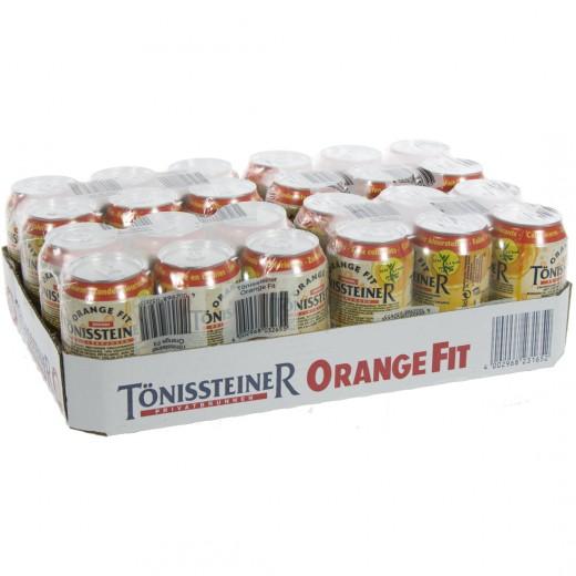 Tonissteiner BLIK  Orange  33 cl  Blik 24 pak