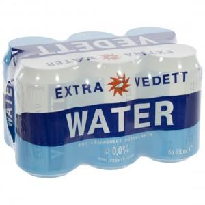 Vedett Water  33 cl  Blik  6 pak
