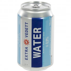 Vedett Water  33 cl  Blik