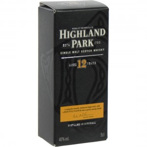Highland Park 12Y  40%  5 cl