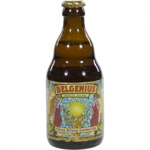 Belgenius Citrus Strong Golden Ale  Blond  33 cl   Fles