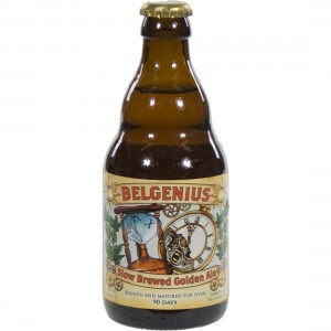 Belgenius Slow Brewed Golden Ale  Blond  33 cl   Fles