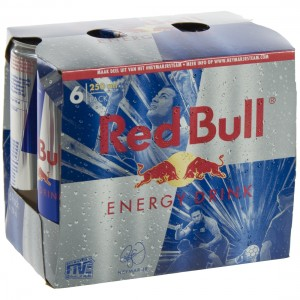Red Bull  Regular  25 cl  Pak  6 st