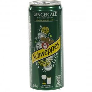 Schweppes Ginger Ale BLIK  33 cl  Blik