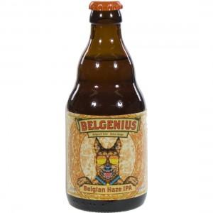 Belgenius Belgian Haze IPA  Blond   Fles