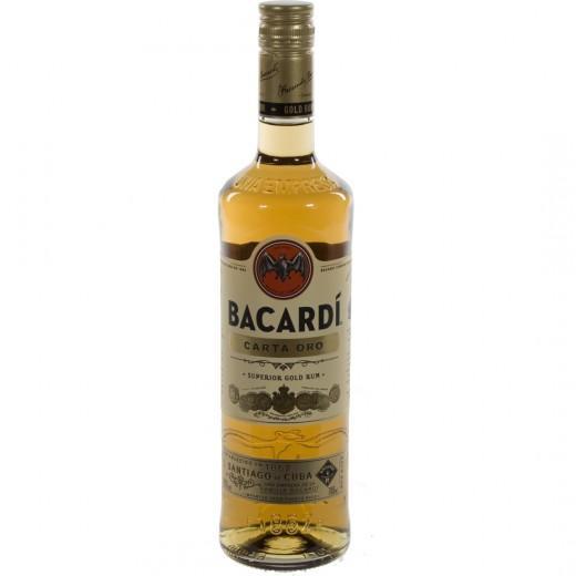 Bacardi Carta Oro 37.5%  70 cl