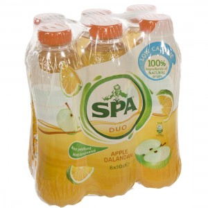 Spa Duo Pet  Appel - Dalanda  50 cl  Pak  6 st