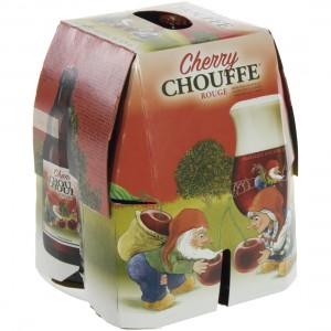 Chouffe Cherry  Rood  33 cl  Clip 4 fl